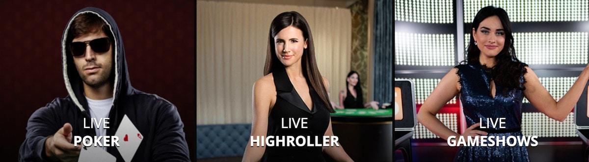 One Casino Live Spiele