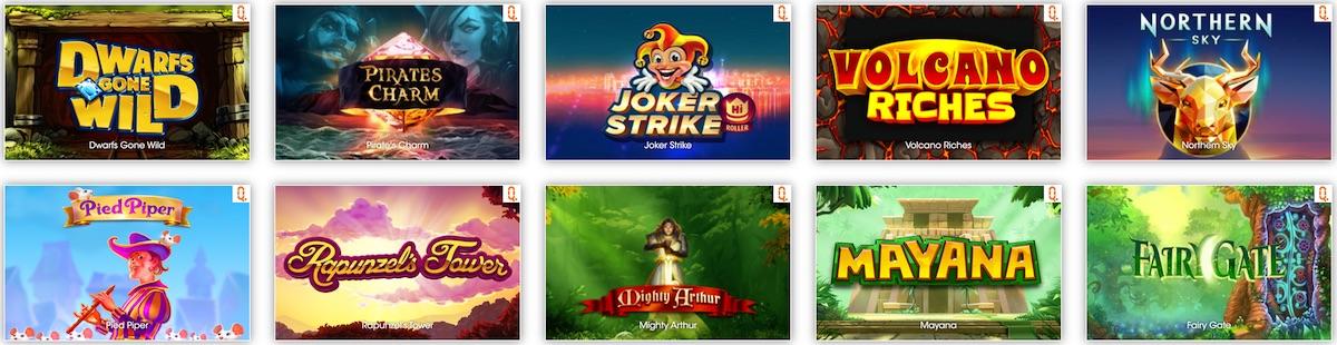 Quickspin Online Slots Spielen