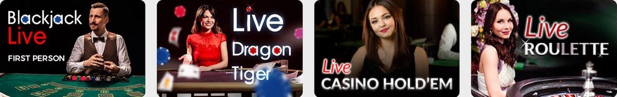 Cadoola Casino Live Spiele