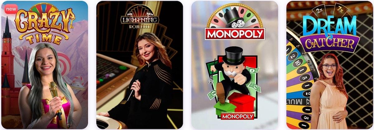 Nomini Casino Live Spiele