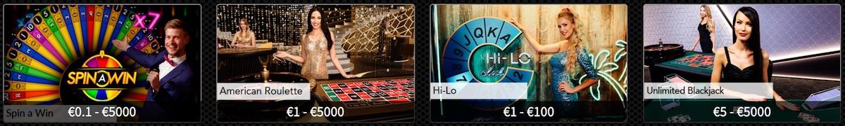 Slot Heaven Live Casino