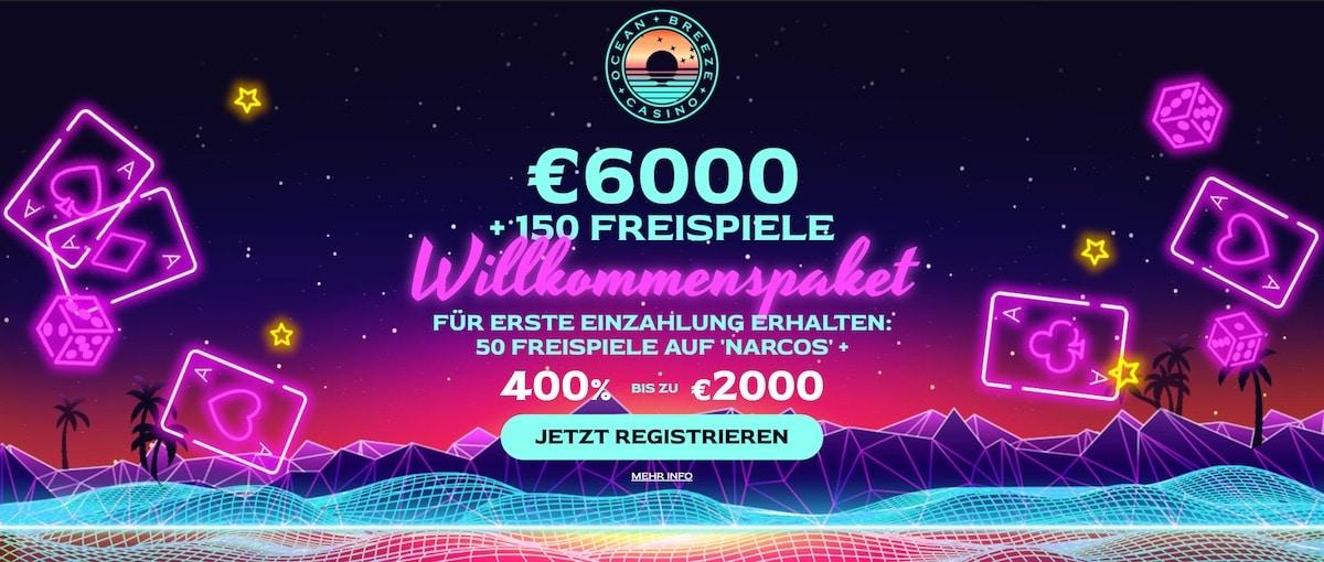 Ocean Breeze Casino Bonus