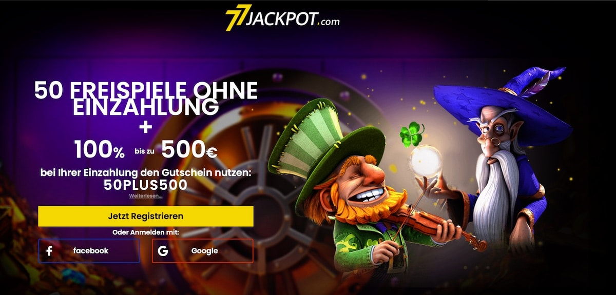 77 Jackpot Gratis Bonus